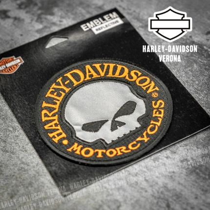 Patch Harley-Davidson® Reflective Hubcup