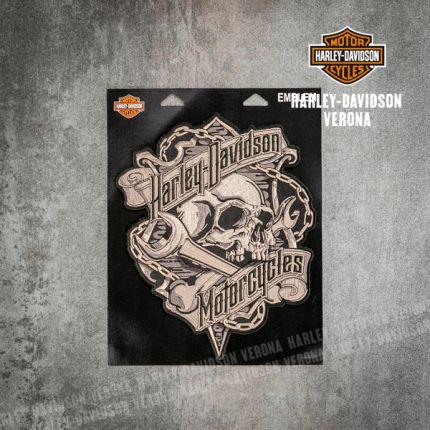 Patch Harley-Davidson® Grim Skull Emblem