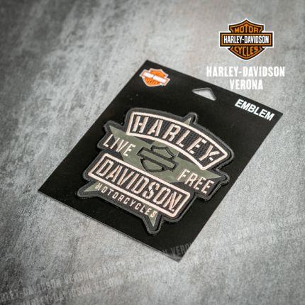 Patch Harley-Davidson® Olive Black