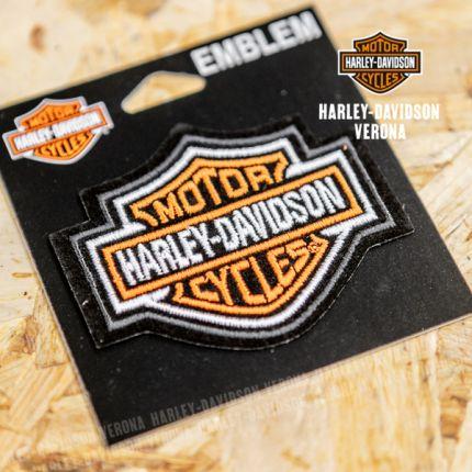 PATCH HARLEY-DAVIDSON® ORANGE BAR & SHIELD XS