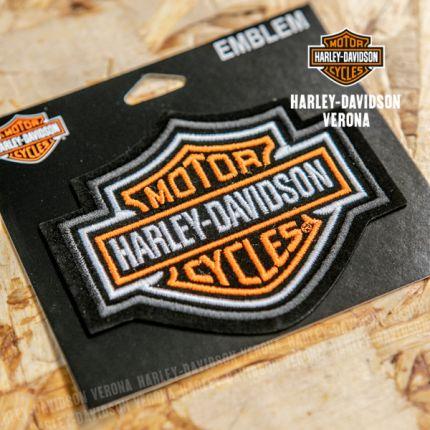 Patch Harley-Davidson® B&S® Arancione Medio
