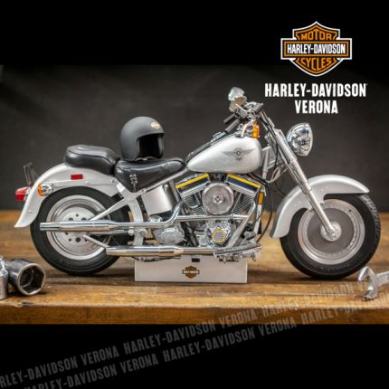 Amarcord: Harley-Davidson® Fat Boy Teste Gialle