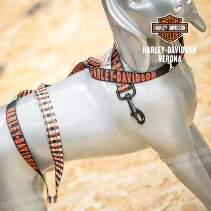 Guinzaglio Harley-Davidson® black-orange