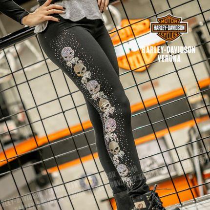 Leggings Harley-Davidson® da Donna WILLIE VINE, Black