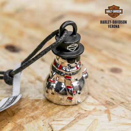 Harley-Davidson® Holiday Snowman Ride Bell
