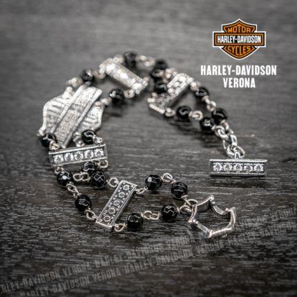 Bracciale Argento Harley-Davidson® Zicrconium