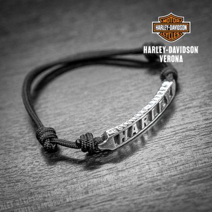 Bracciale Argento Harley-Davidson® Plain