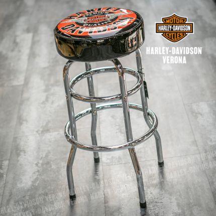 Sgabello Harley-Davidson® Winged B&S