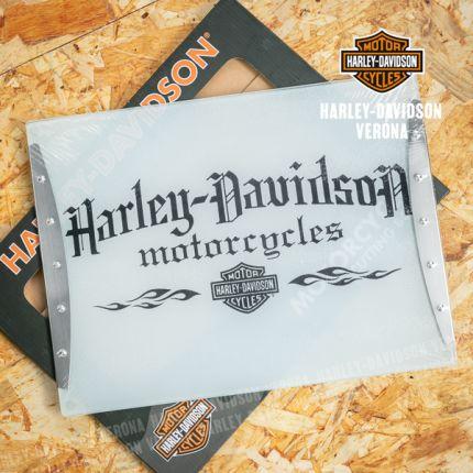 Tagliere Harley-Davidson® in vetro temperato