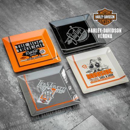 Set Piatti Harley-Davidson® Pit Stop Snake
