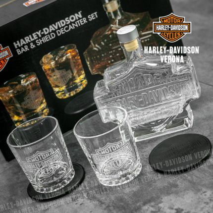 Set Decanter Harley-Davidson® Bar&Shield
