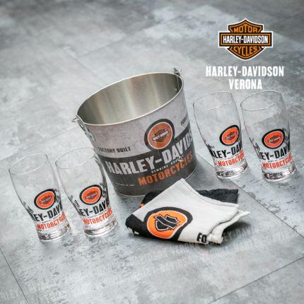 Set Bicchieri e Secchiello Harley-Davidson®