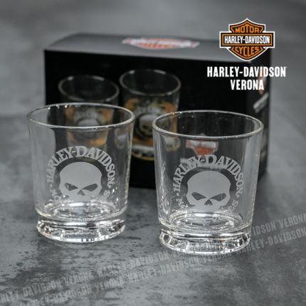 Set Bicchieri Harley-Davidson® Skull