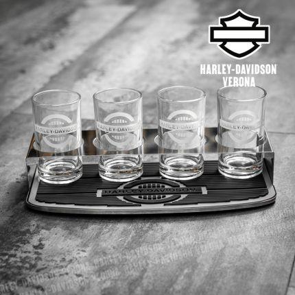 Set di bicchieri per degustazione Harley-Davidson®