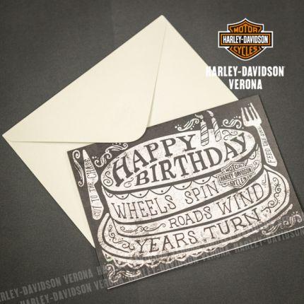 Biglietto di Compleanno Harley-Davidson® Roll On
