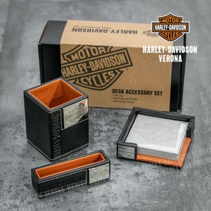 Set di accessori da scrivania Harley-Davidson®