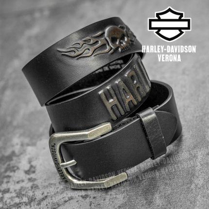 Cintura in Pelle Harley-Davidson® Highway to Hell