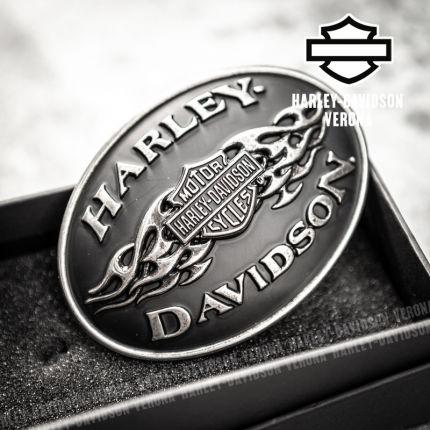 Fibbia Harley-Davidson® Black Flame