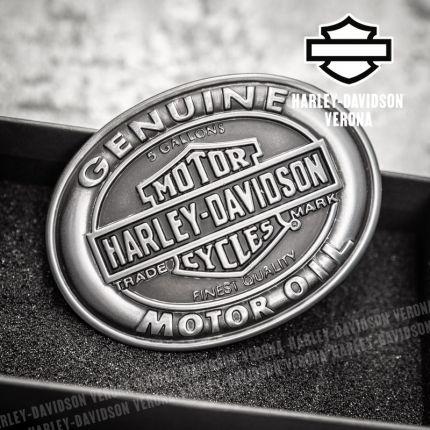 Fibbia Harley-Davidson® Genuine Motor Oil