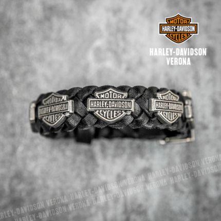 Bracciale Harley-Davidson® Braid Cuff