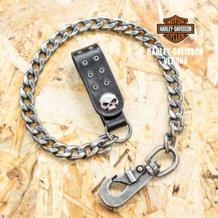 "Catena da portafoglio Harley-Davidson®  ""Skull Eyelet Wallet Chain """
