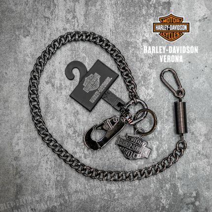 Catena da Portafoglio Harley-Davidson® Gunmetal