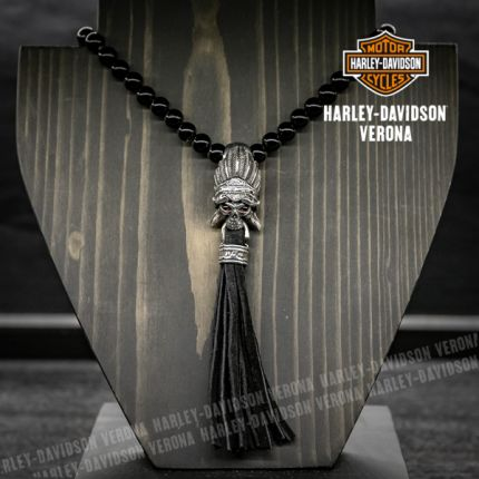 Collana Harley-Davidson® con pietre in Onice