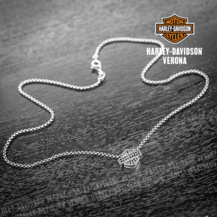 Harley-Davidson® by Thierry Martino B&S Pendant, Onix
