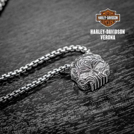 Pendente Teschio Harley-Davidson®  by Thierry Martino