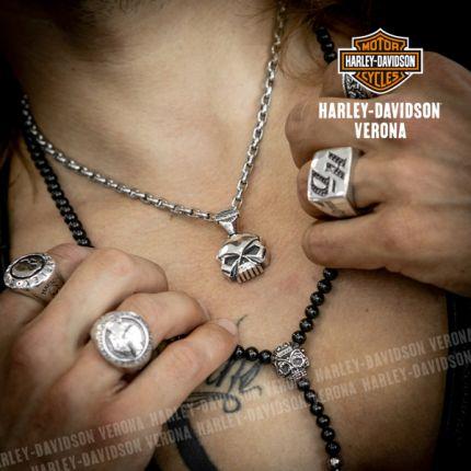 Pendente Skull Harley-Davidson® by Thierry Martino
