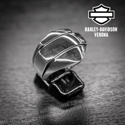 Anello B&S Logo Harley-Davidson® by Thierry Martino