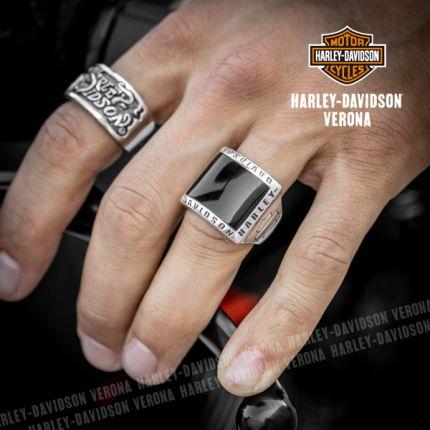 Anello Onice Harley-Davidson® Square