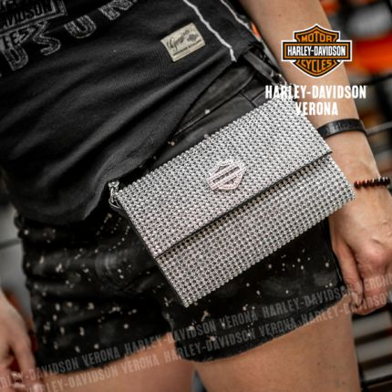 Borsetta Harley-Davidson® Saturday Night Allover Crystal Purse