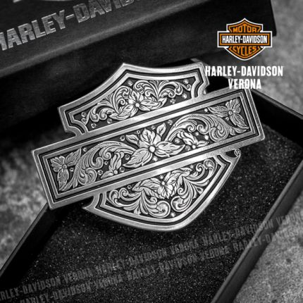 Fibbia Harley-Davidson® Filigree B&S
