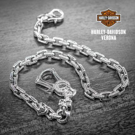 Catena da portafoglio Harley-Davidson® Gothic Skull