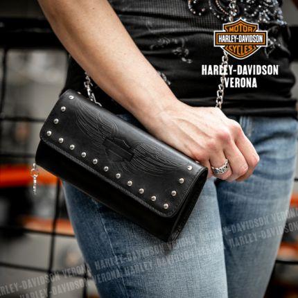 Portafoglio Harley-Davidson® Wing on a Chain