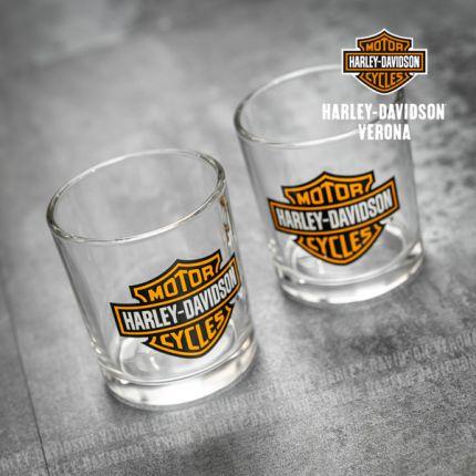 Set di 2 Bicchieri Harley-Davidson® Vintage Style