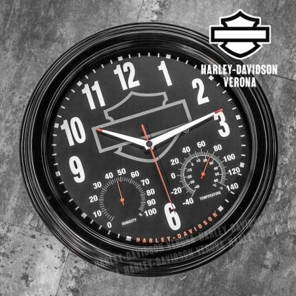 Orologio Harley-Davidson® Outdoor/Thermometer