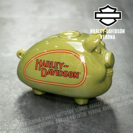 Salvadanaio Porcellino Harley-Davidson® 1930s Green