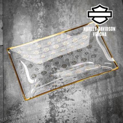 Vassoio Piatto da PortataHarley-Davidson® Repeat Silhouette Bar & Shield®