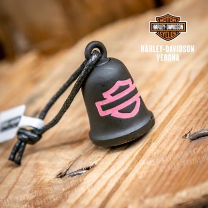 Campanella Harley-Davidson® Pink Label Bar & Shield Black
