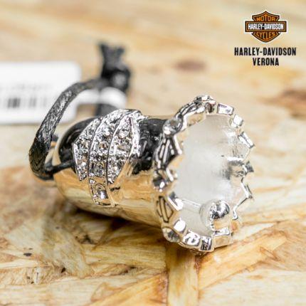 Campanella Harley-Davidson® White Crystal B&S