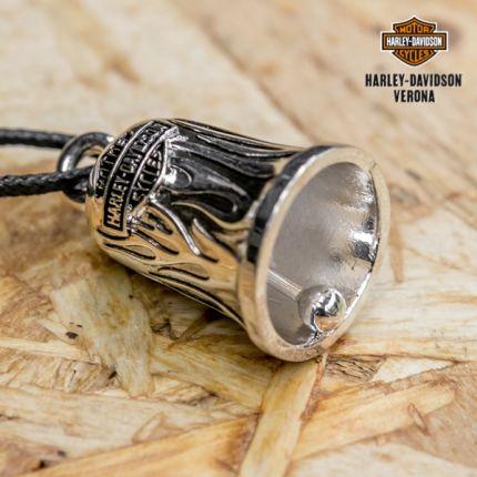 Campanella Harley-Davidson® Silver Flames