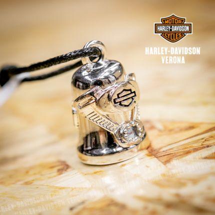 Campanella Harley-Davidson® Sculpted Engine Bar & Shield, Silver Finish