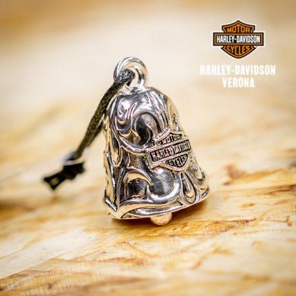 Campanella Harley-Davidson® Vintage Rebel Filigree Bar & Shield