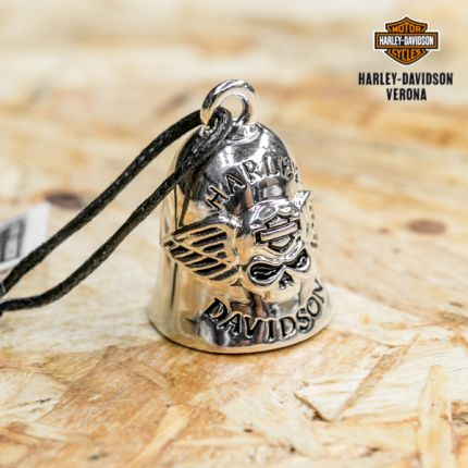 Campanella Harley-Davidson® Skull&B&S Logo