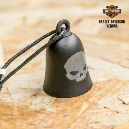 Campanella Harley-Davidson® Black Matte Willie G Skull