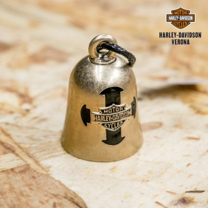 Harley-Davidson® Cross with B&S Ride Bell by Mod Jewelry®