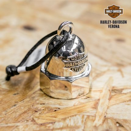 Harley-Davidson® Mens Bolt with B&S Silver Ride Bell