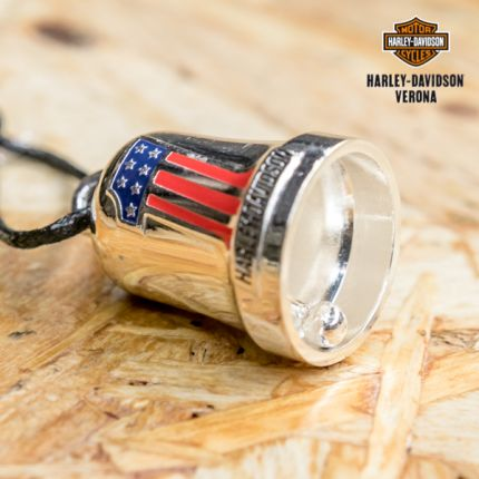 Harley-Davidson® Red, White & Blue #1 Logo Ride Bell by Mod Jewelry®